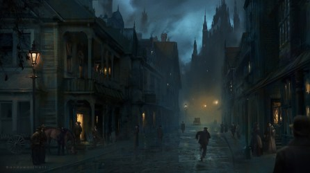 Andy Walsh Victorian Gothic : Lovecraft