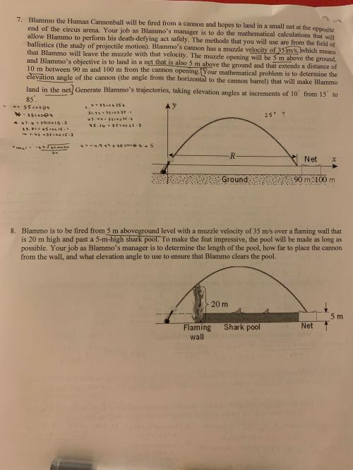 small resolution of Grade 10 Precalc How to solve this Parametric Equation Word Problem? I'm  stumped on the process (ex. I don't understand what I'm supposed to be  finding...Do I guess and check? or is