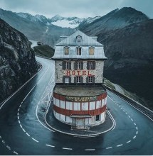 Belvedere Hotel Furka Pass Switzerland