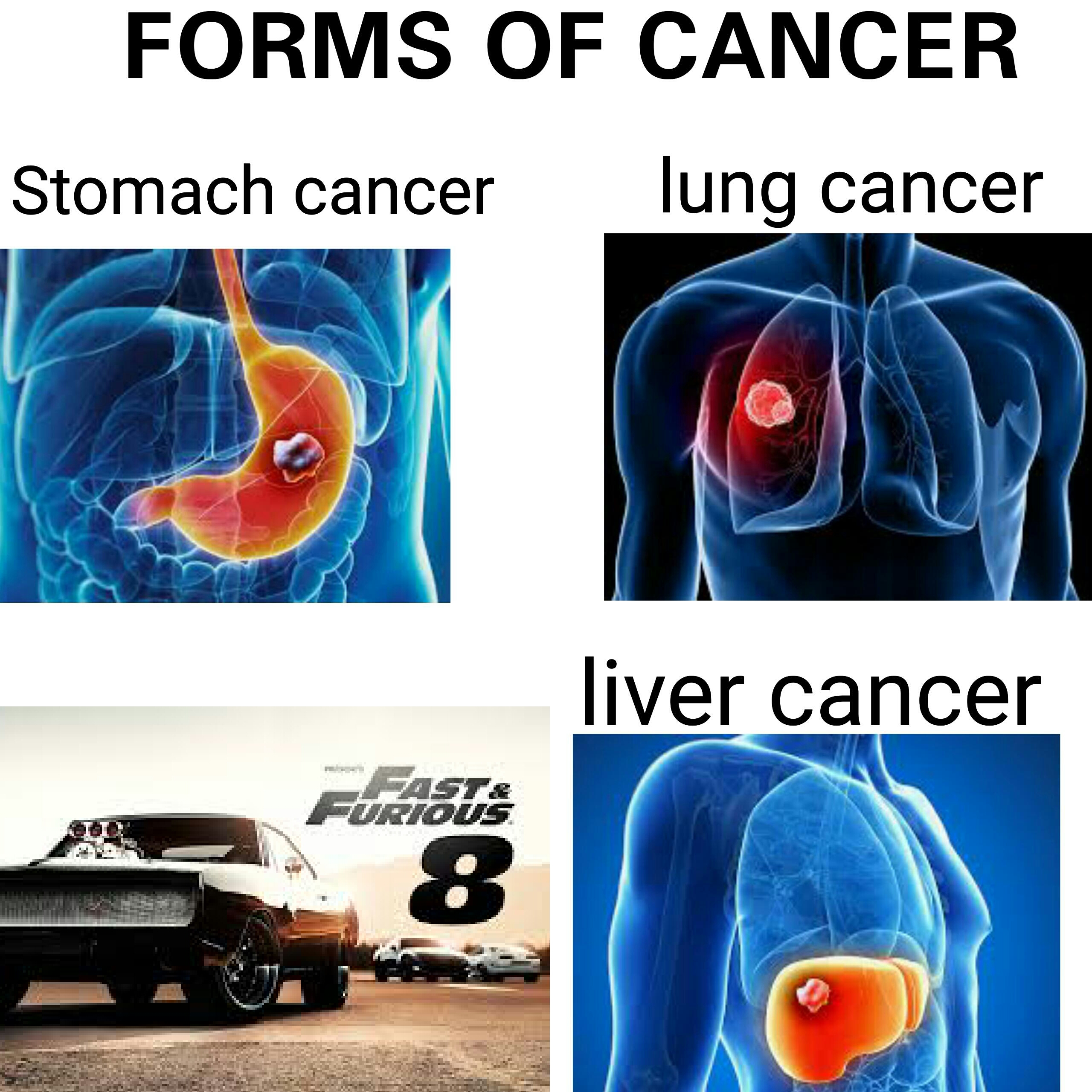 forms of cancer memes