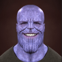 Thanos Face But Mirrored Thanosdidnothingwrong