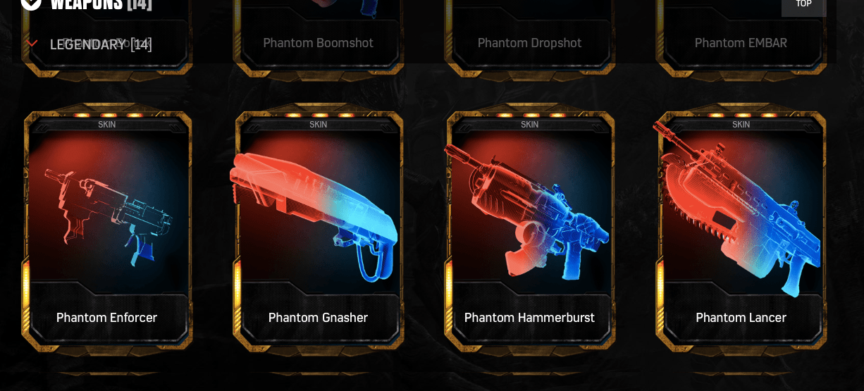 Phantom Lancers are dropping now : GearsOfWar