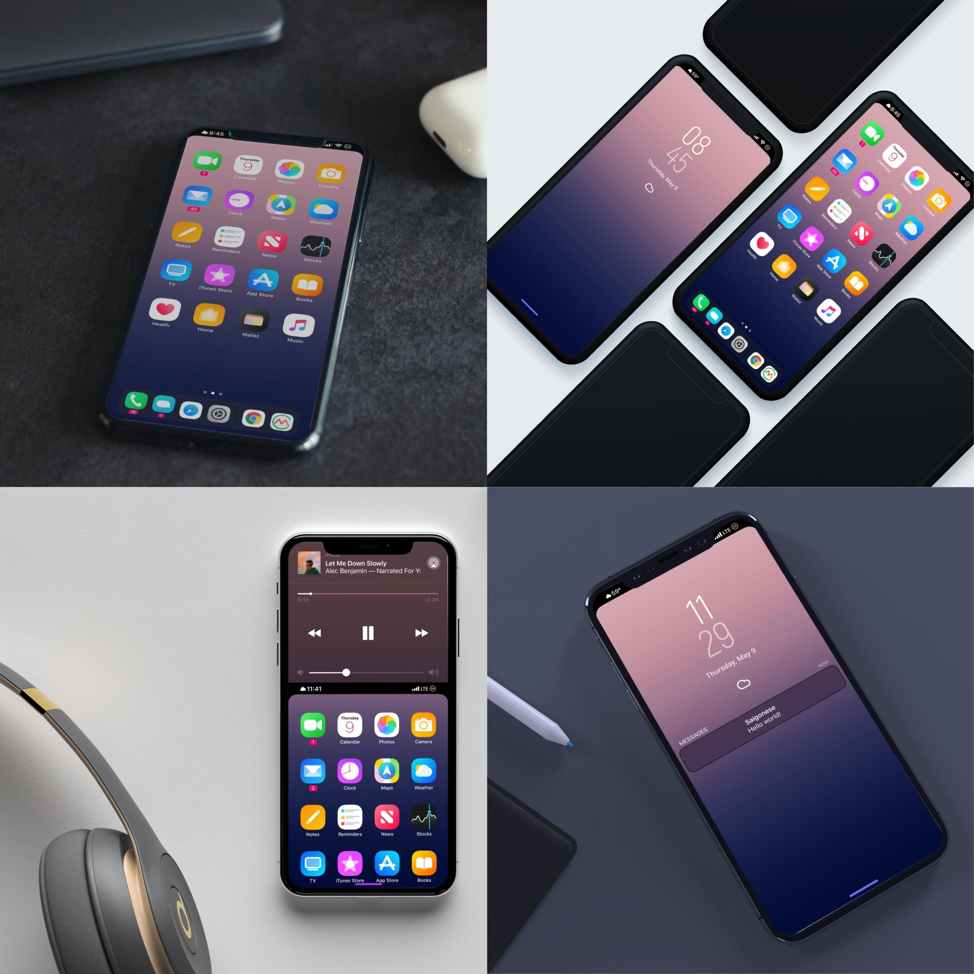 Notchless Wallpaper Iphone X Setup From Dusk Till Dawn Iosthemes