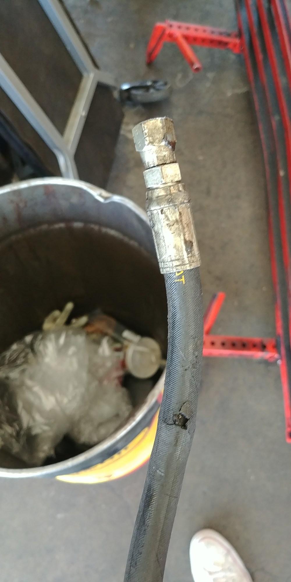 medium resolution of 95 ford 7 3l fuel return hose
