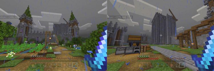 Medieval/fantasy castle : Minecraft