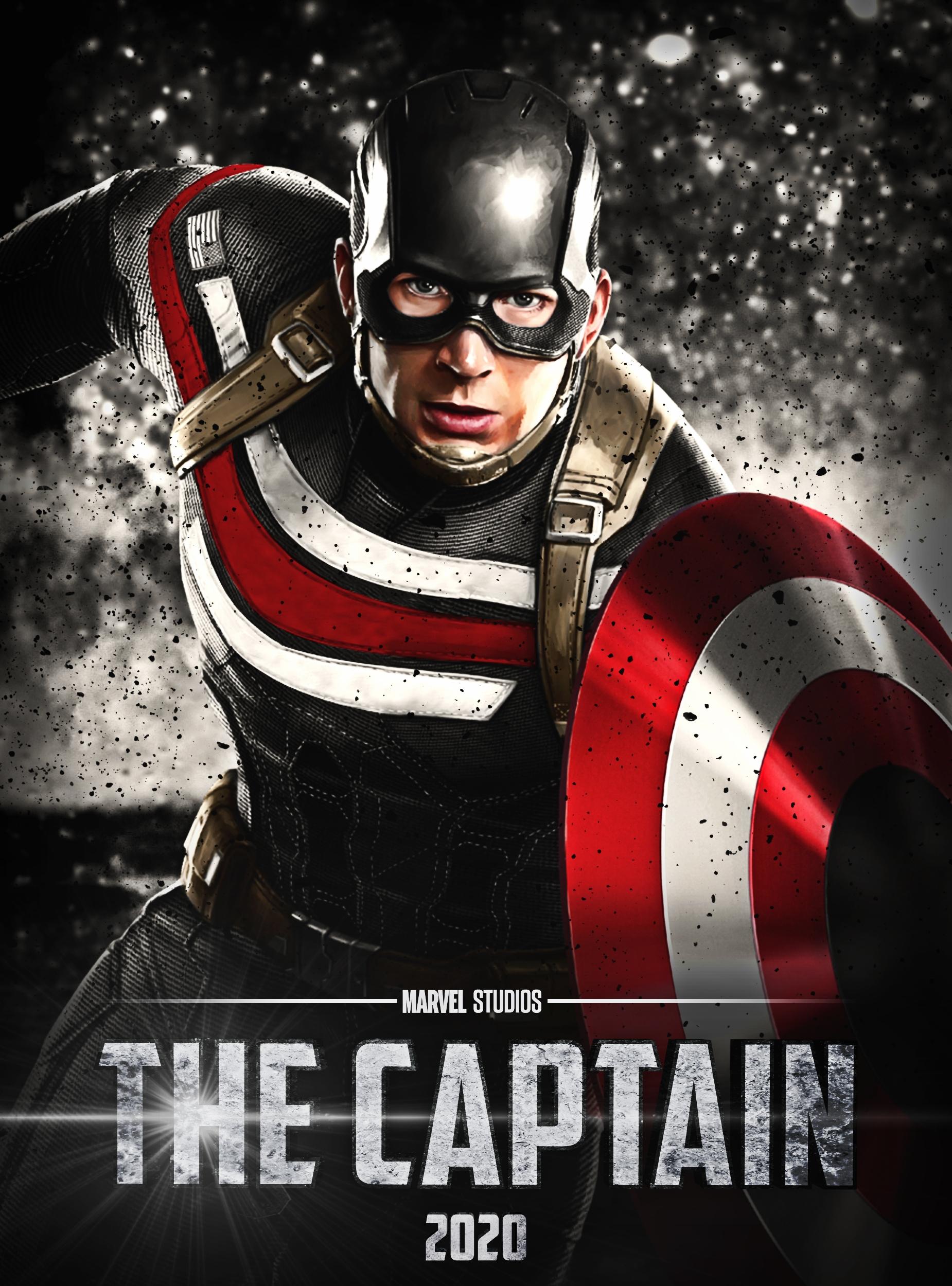 faux marvel studios captain america