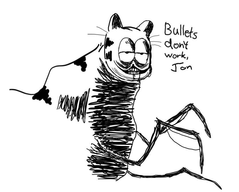 Not much of an artist, but I love this subreddit. Bullets