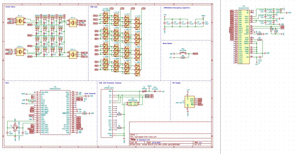 medium resolution of help with macopad schematic atmega32u4 is31fl3733 usb c