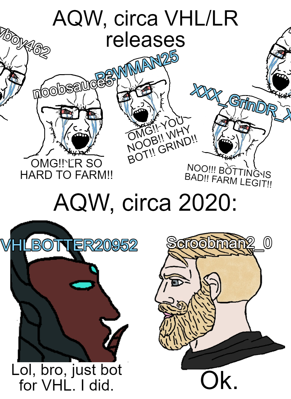 Aqw Bot 2019 : Normal, Person.