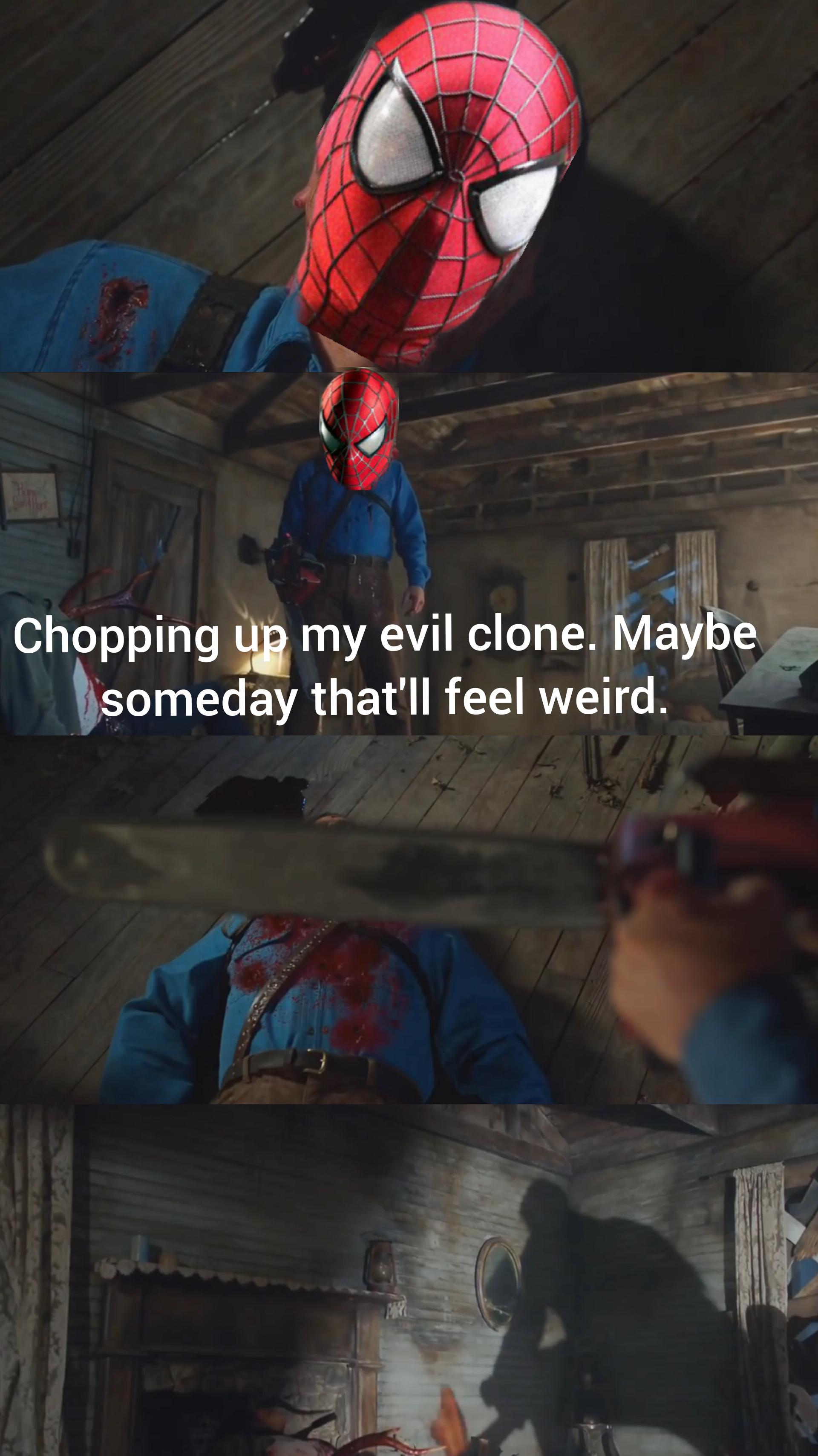 Spiderman Good Riddance : spiderman, riddance, Riddance., Raimimemes