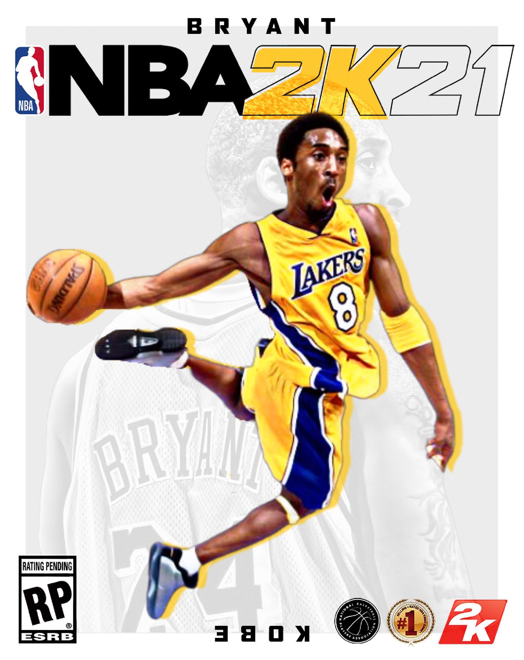 Kobe Bryant 2k Rating : bryant, rating, Bryant, NBA2K21, Cover, NBA2k