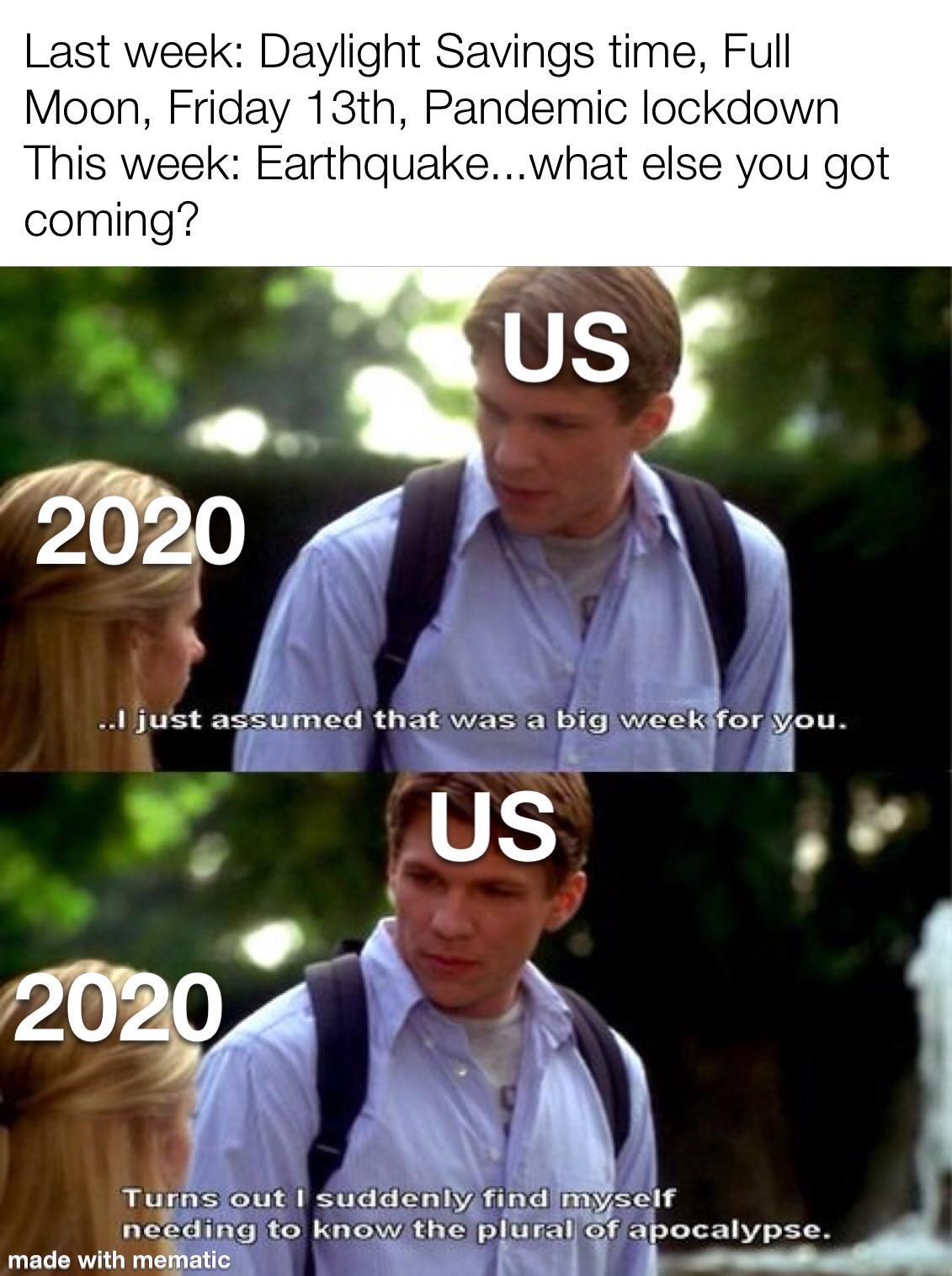 Lockdown Memes 2020