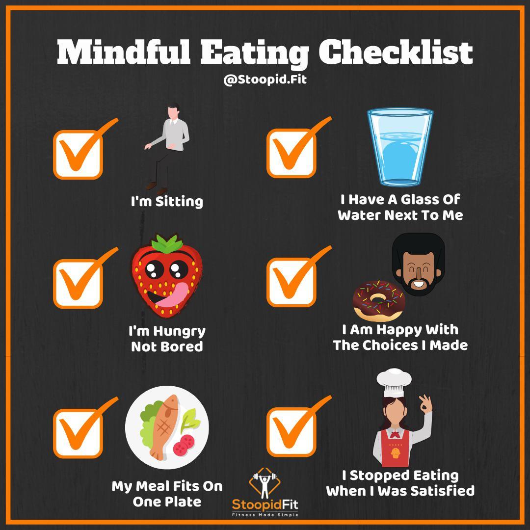 Binge Eating Disorder Checklist Selfcarecharts
