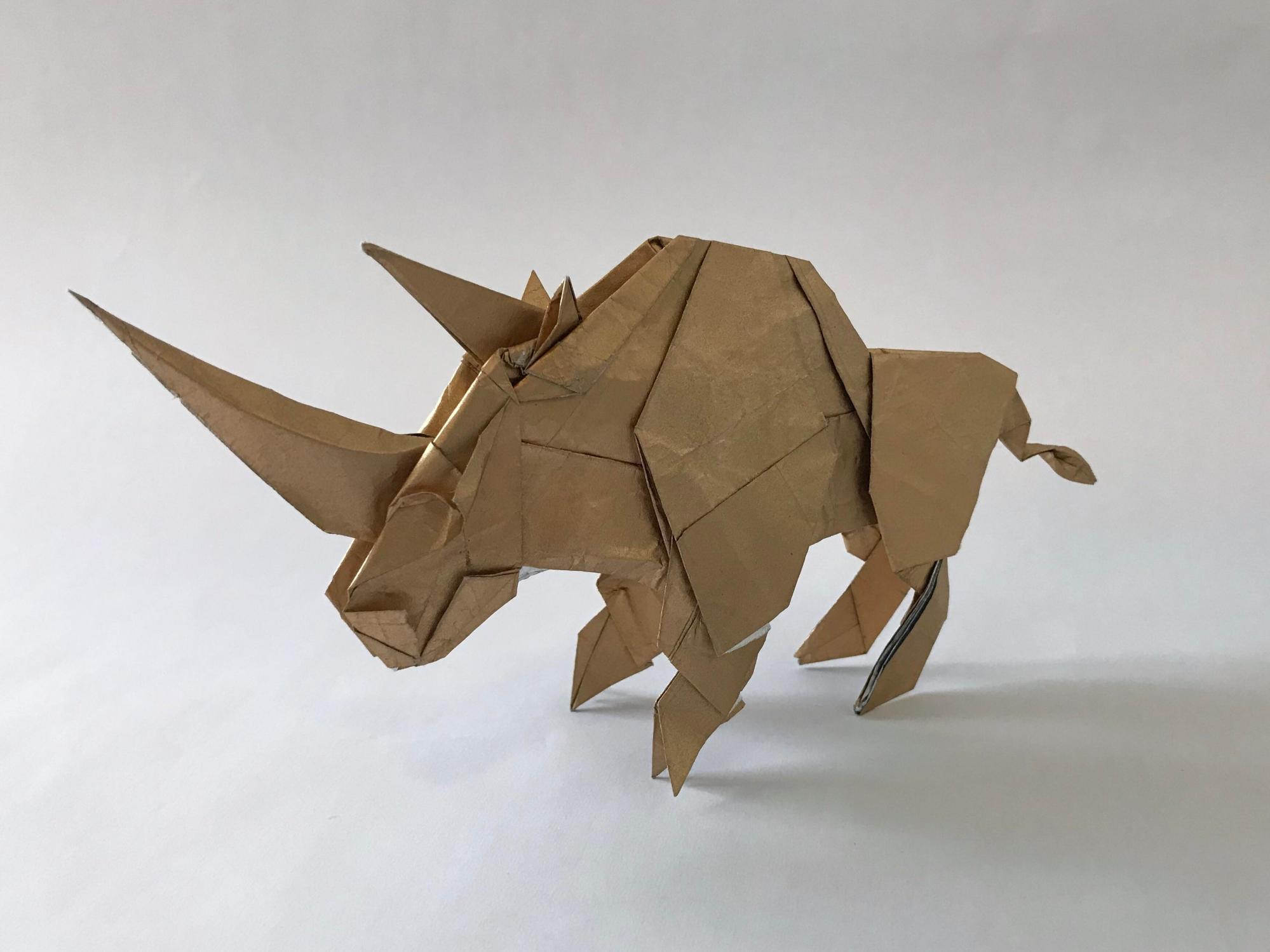 hight resolution of origami