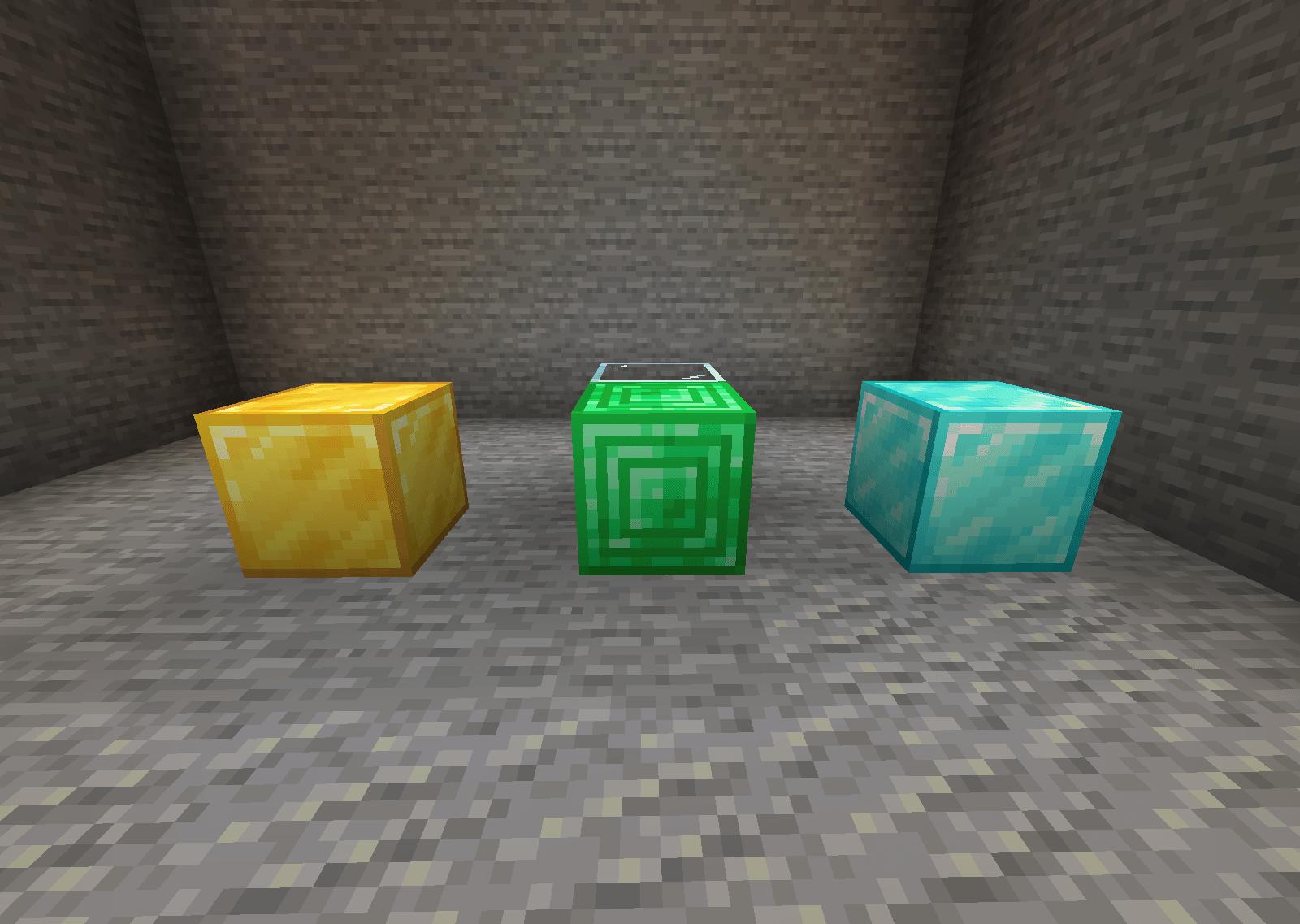 the emerald block texture