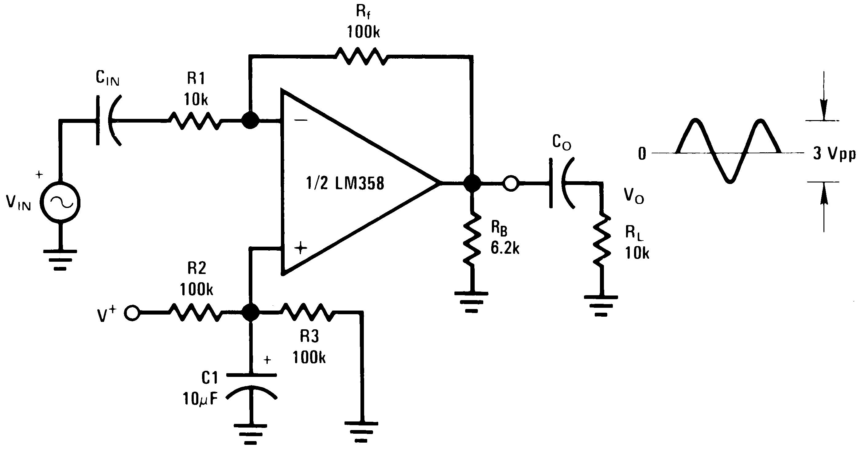circuit diagram of non inverting amplifier fios phone wiring can anyone please explain cin diypedals