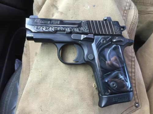 small resolution of my sig p238 best carry piece ever
