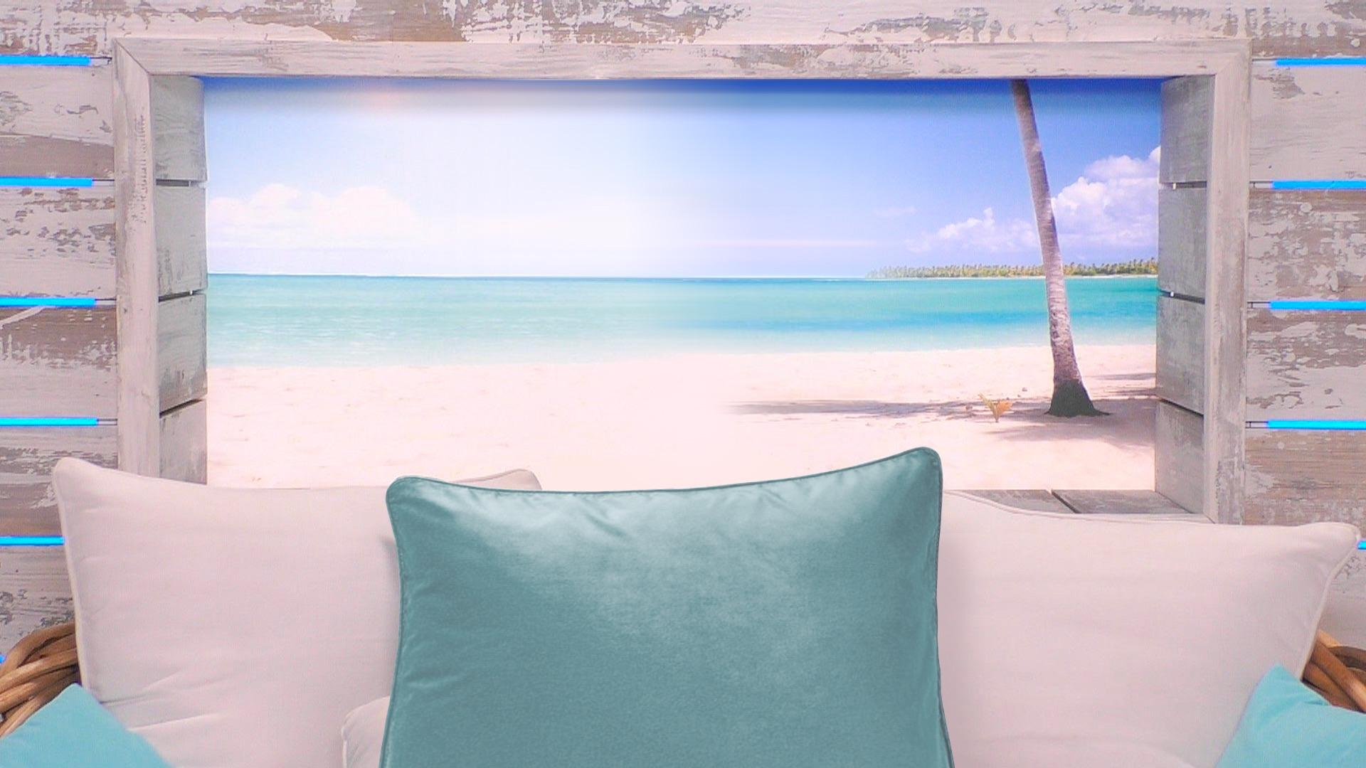Islanders I Made A Beach Hut Zoom Background For Your Conference Calls Loveislandtv