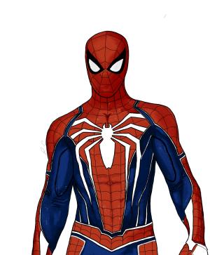 drawing suit marvel advanced simple spider sketch basic fan marvels clipartmag