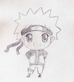 naruto chibi anime drawings drawing deviantart uzumaki commission kakashi drawn easy sketch kawaii boruto looks draw characters pencil pikachu very