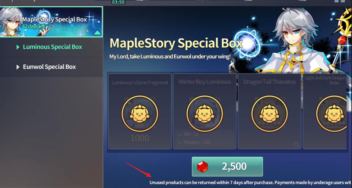 Now you can refund in-game purchase within 7 days? : FantasyWarTactics
