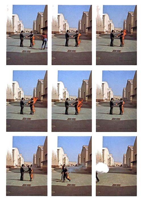 Wish You Were Here Album : album, Floyd, Album, Cover, Outtakes, OldSchoolCool
