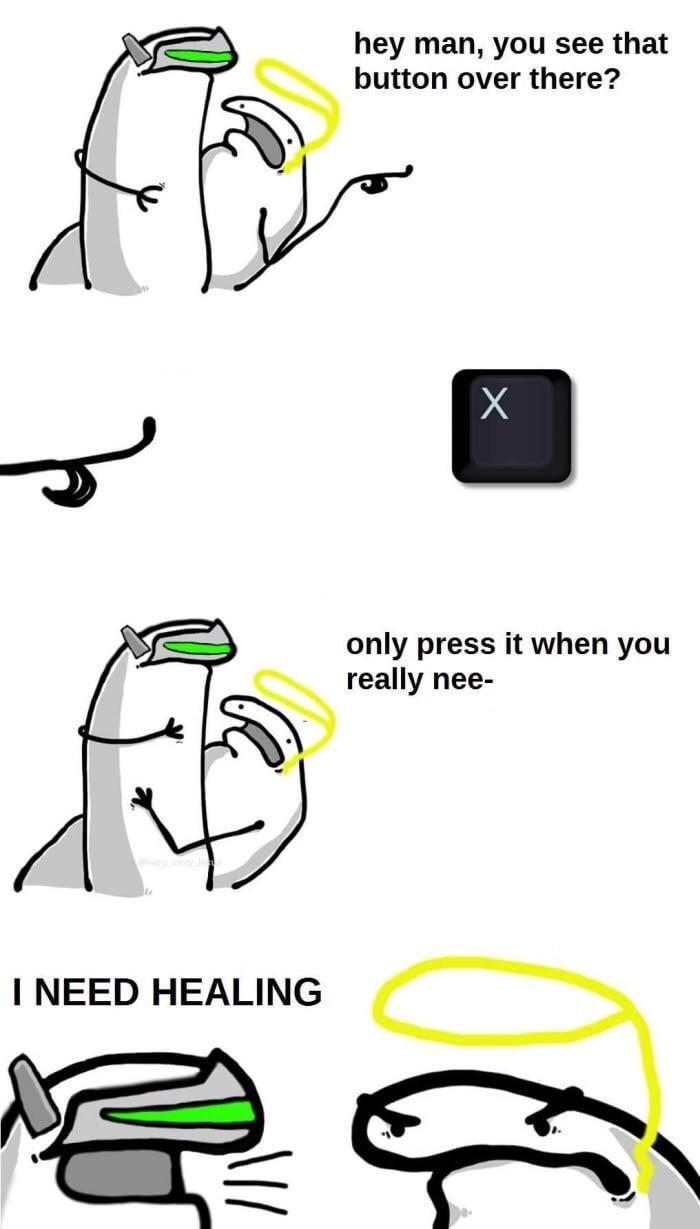 I Need Healing OverwatchMemes