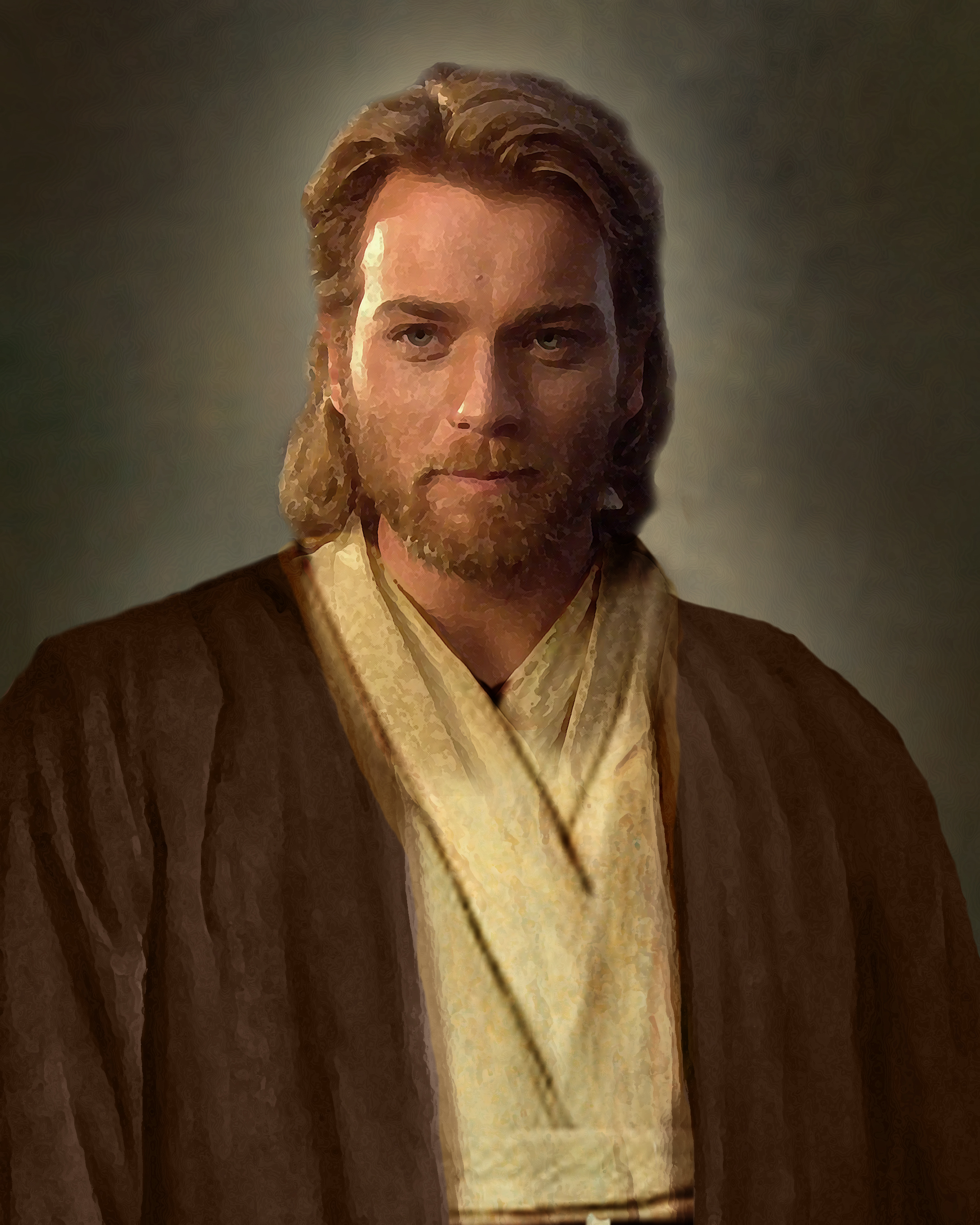 In honor of the Star Wars release this week heres my Obi Wan Jesus picture replacement I made