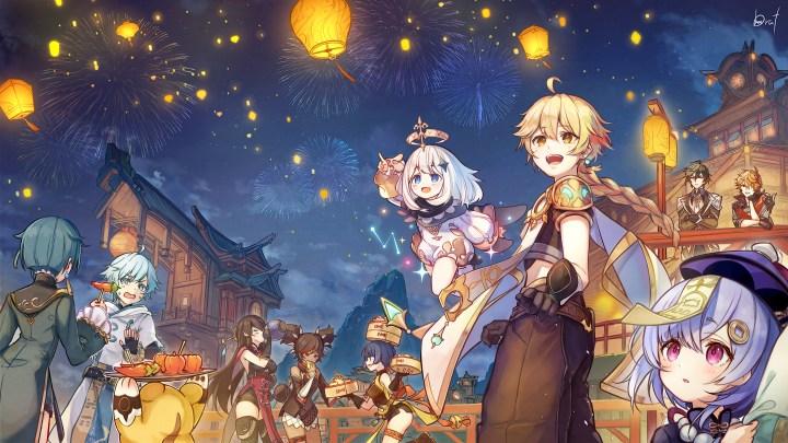 Lantern Rite Festival [Genshin Impact] (5120×2880)