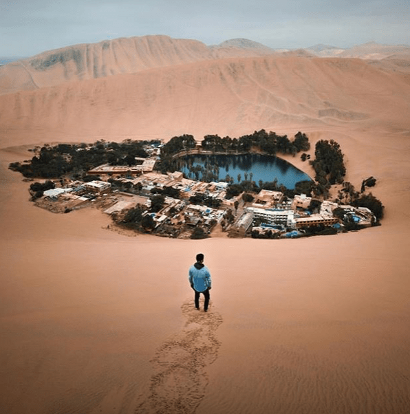 A True Oasis Does Exist Huacachina Ica Peru