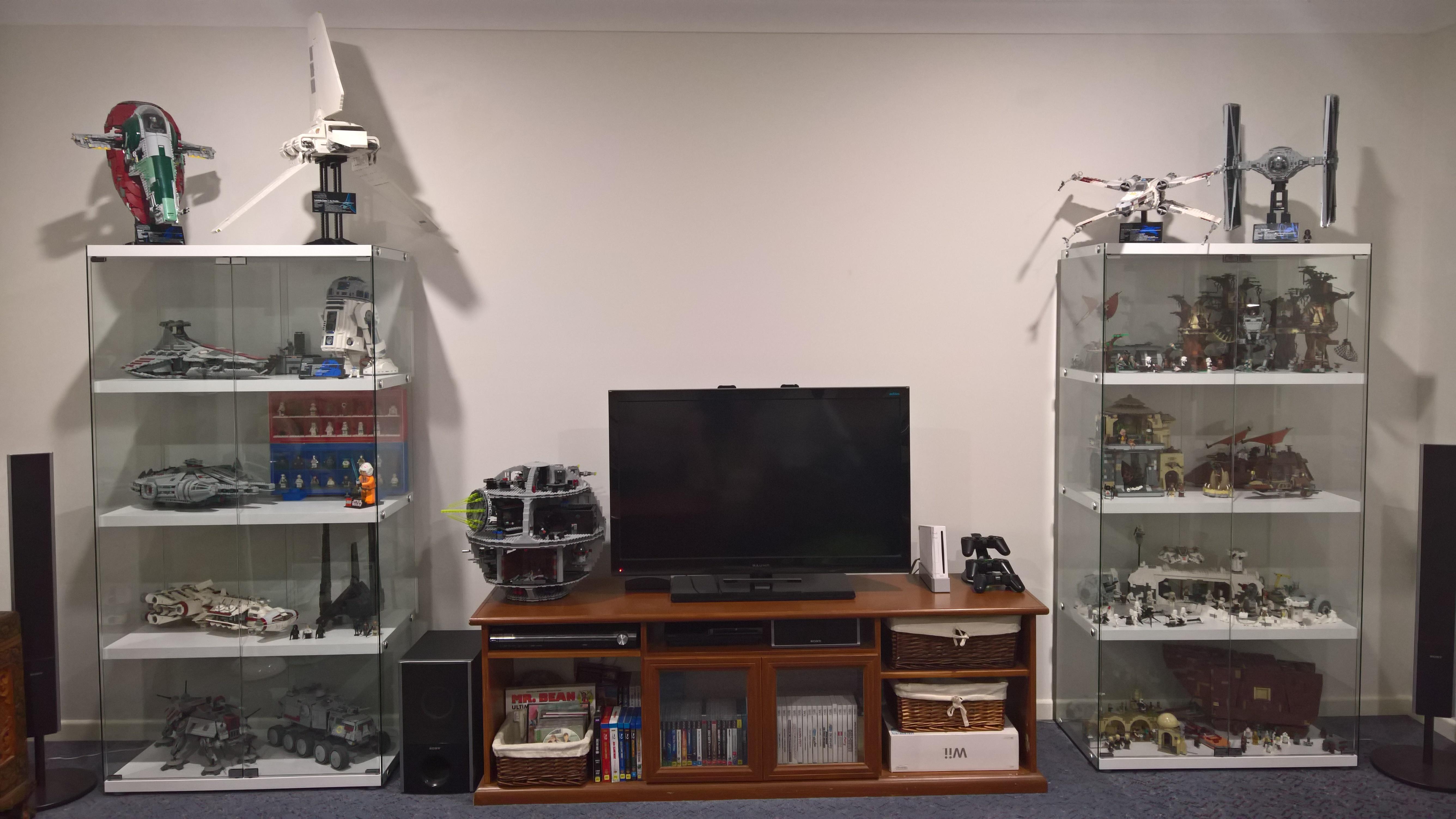 Lego Display Living Room