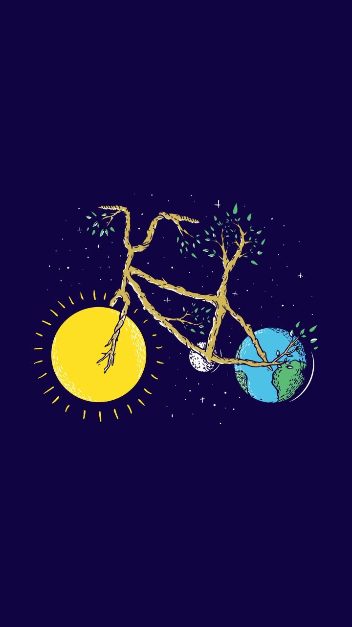 (1440×2560) ride the universe