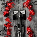 Ferrari Pitstop Mobile Wallpaper Inspired By U Misify Formula1