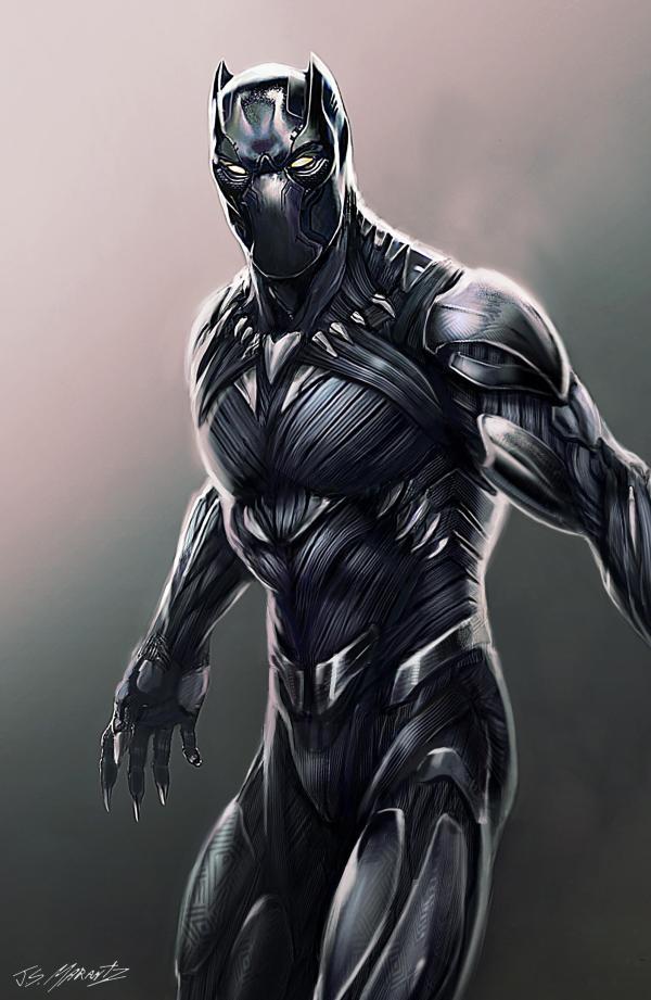 Alternate Black Panther Concept Art. Marvelstudios
