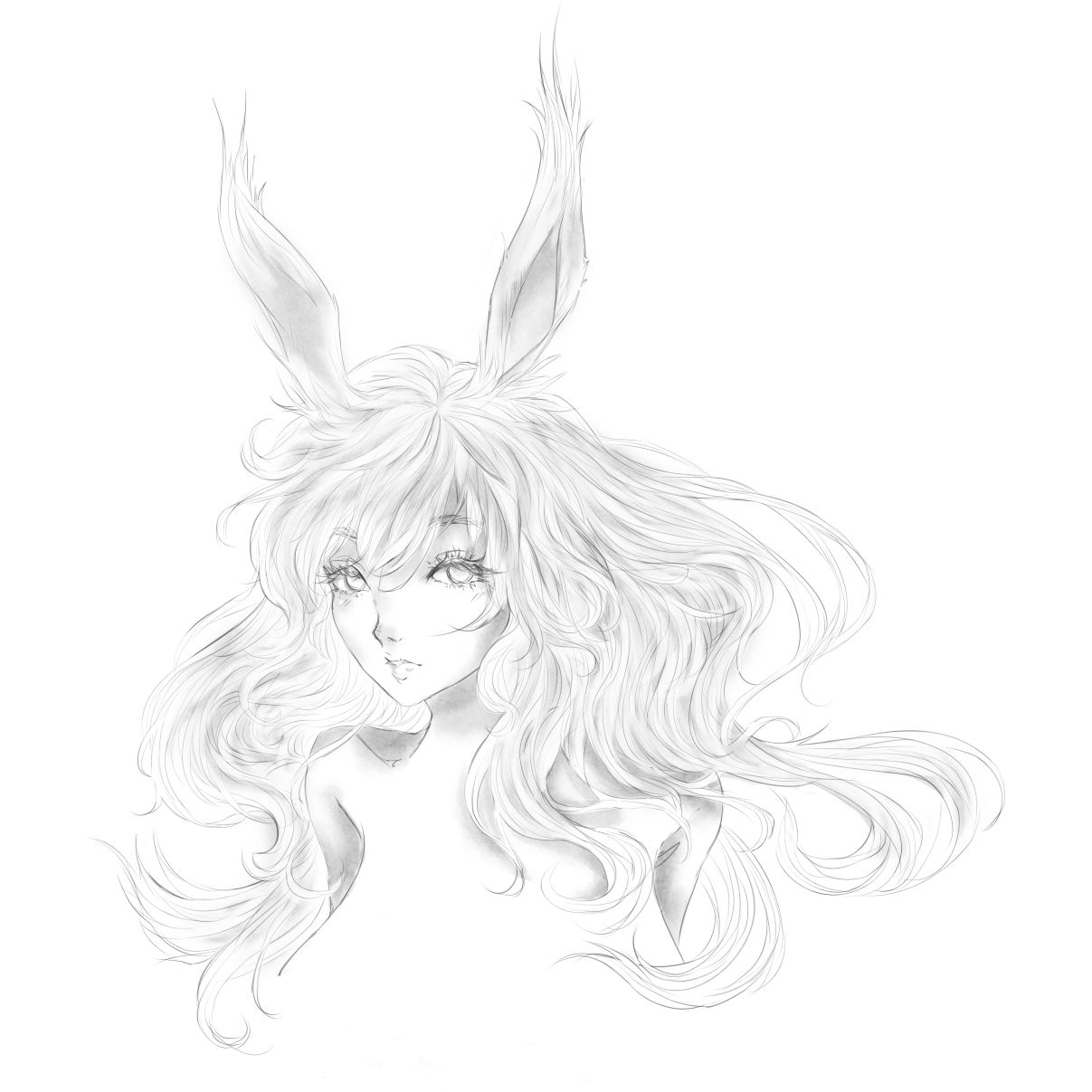 Made A Viera Sketch For The Upcoming Expansion Ffxiv