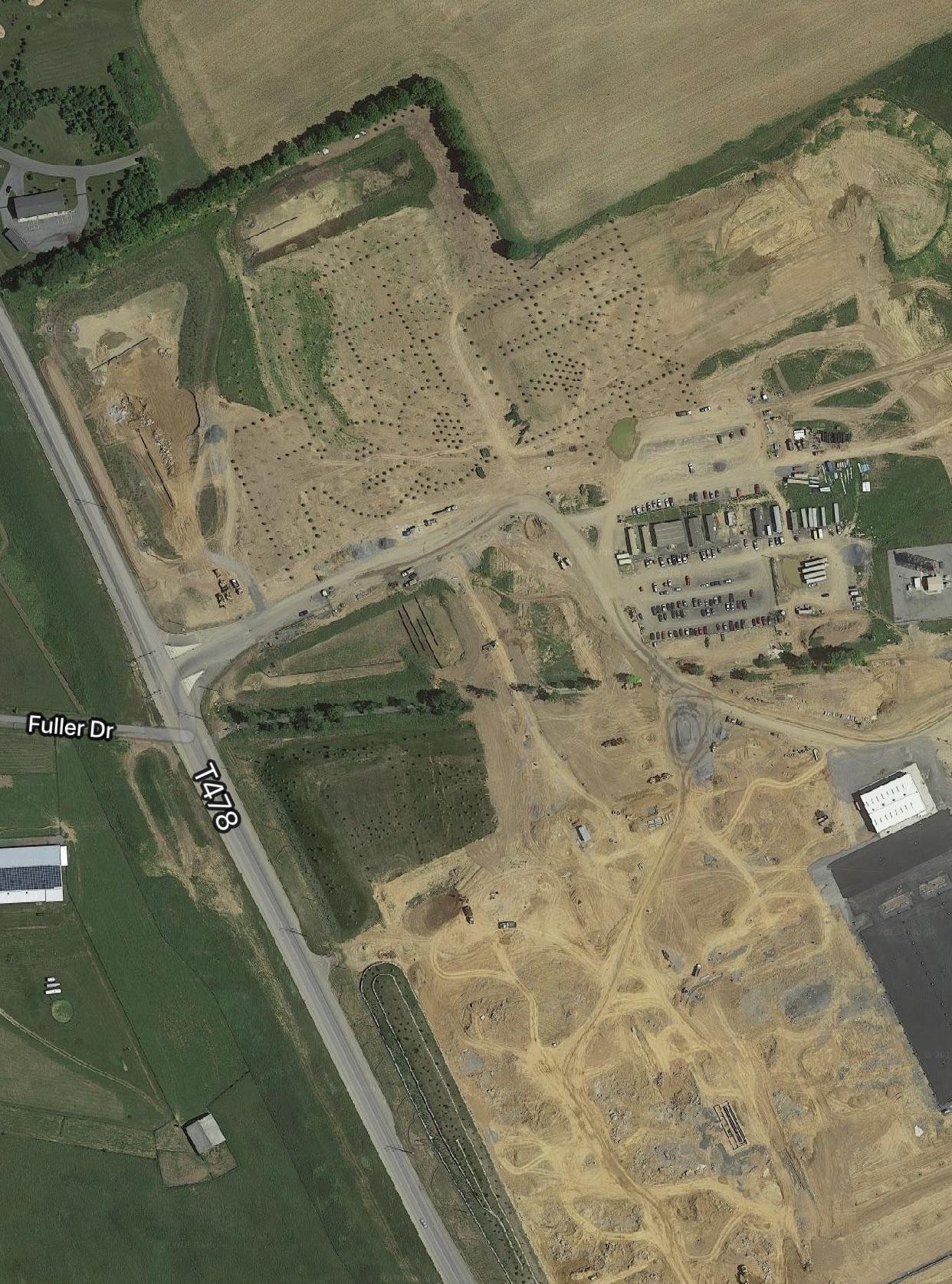 Fedex Google Maps : fedex, google, Google, Lehigh, Valley, Notice, Planted, Trees, FedEx