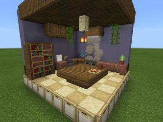 I built a small kitchen in creative : Minecraft