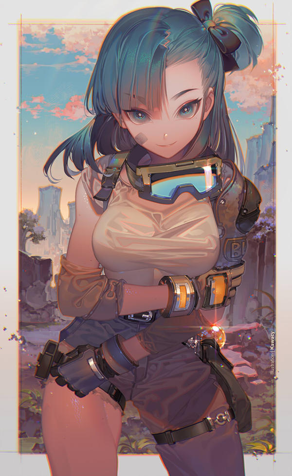 [ART] Bulma, by kawacy on DeviantArt (Dragon Ball)