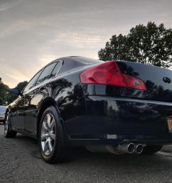 hey guys new here here s a booty shot of my 2005 g35x sedan  [ 4000 x 3000 Pixel ]