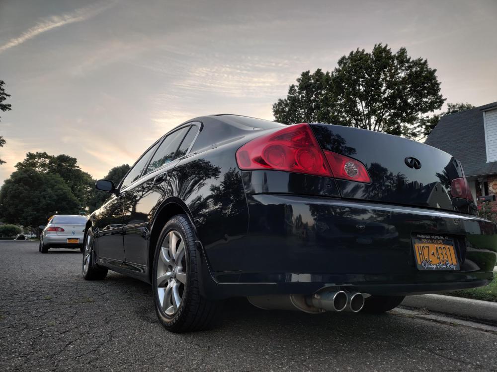medium resolution of hey guys new here here s a booty shot of my 2005 g35x sedan