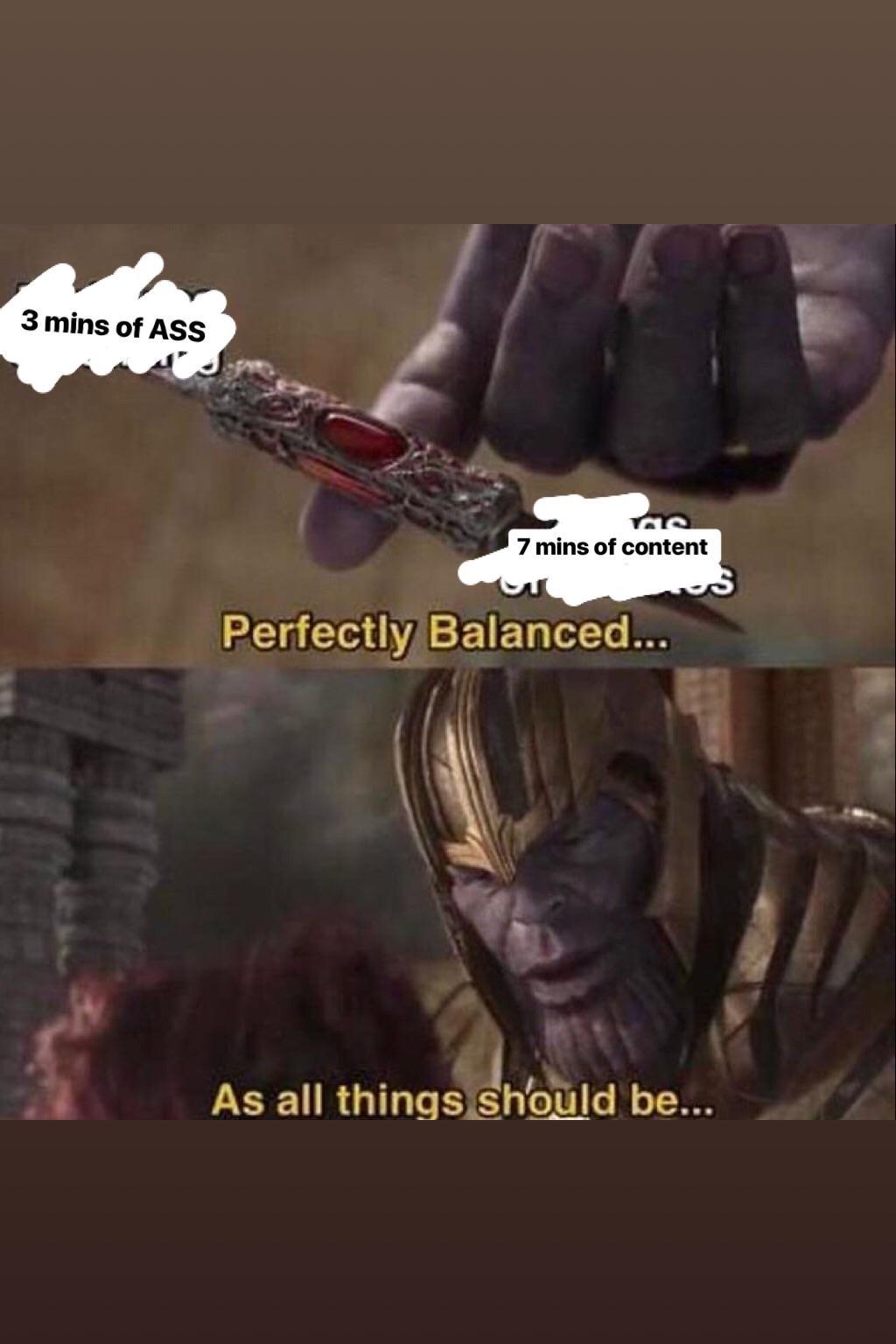 Thanos Balance Meme : thanos, balance, Thanos, PewdiepieSubmissions