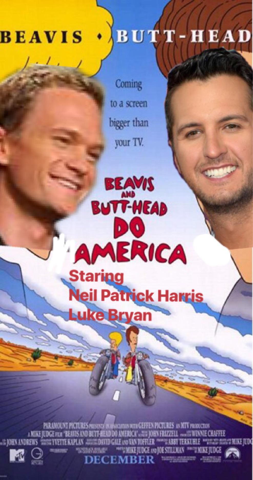 Luke Bryan Beavis And : bryan, beavis, Action, Movie, Wanna, Funny