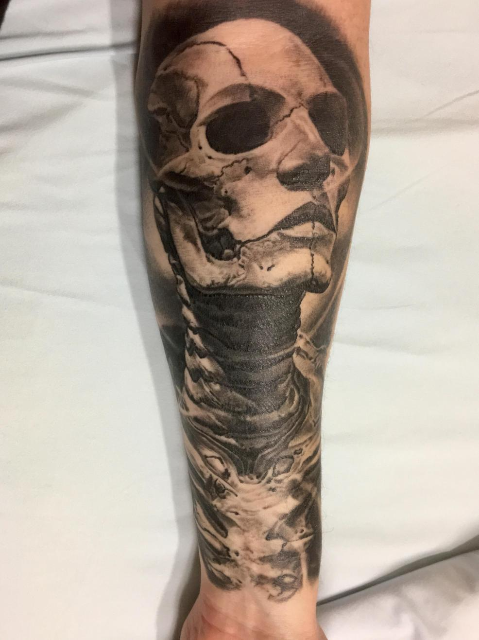 Done At The Dc Tattoo Convention By Robby Latos Of Damascus Tattoo