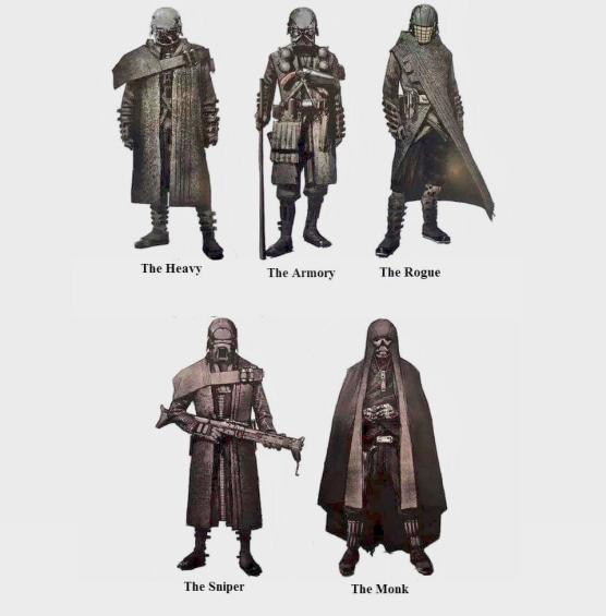Image result for knights of ren concept art
