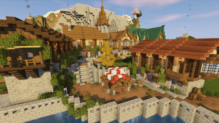 minecraft medieval village build project starting suggestions any odniesienie sztuki builds comments