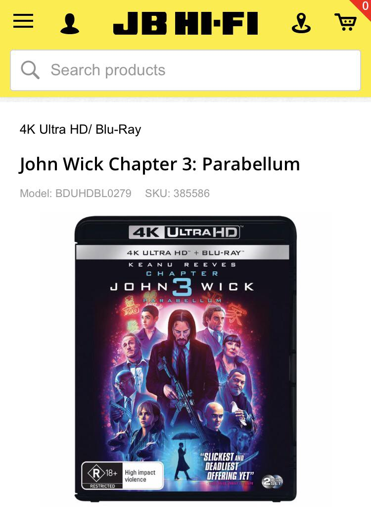 John Wick Parabellum Streaming Reddit : parabellum, streaming, reddit, Australia,, Steelbook, Version, R-rated,, Whereas, Standard, Versions, MA15+., Ideas, Personally, Think, Because