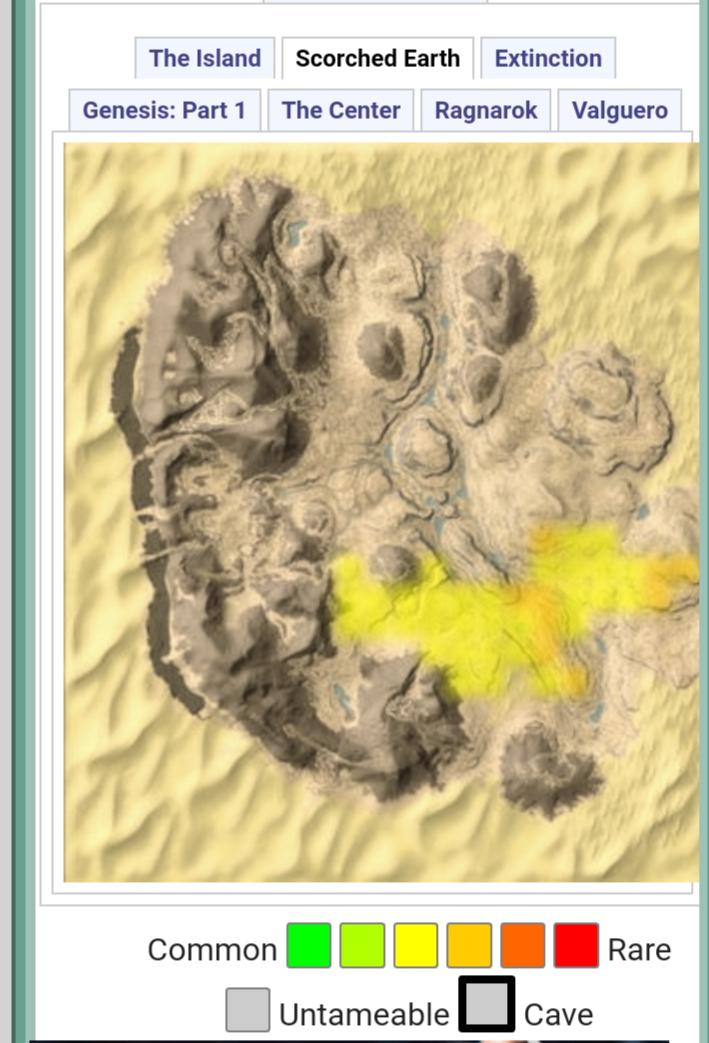 Caves In Scorched Earth : caves, scorched, earth, Where, Parasaurs, Spawn, Scorched, Earth, Rupsukka123FanClub