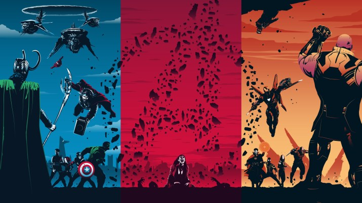 Avengers Trilogy [1920×1080]