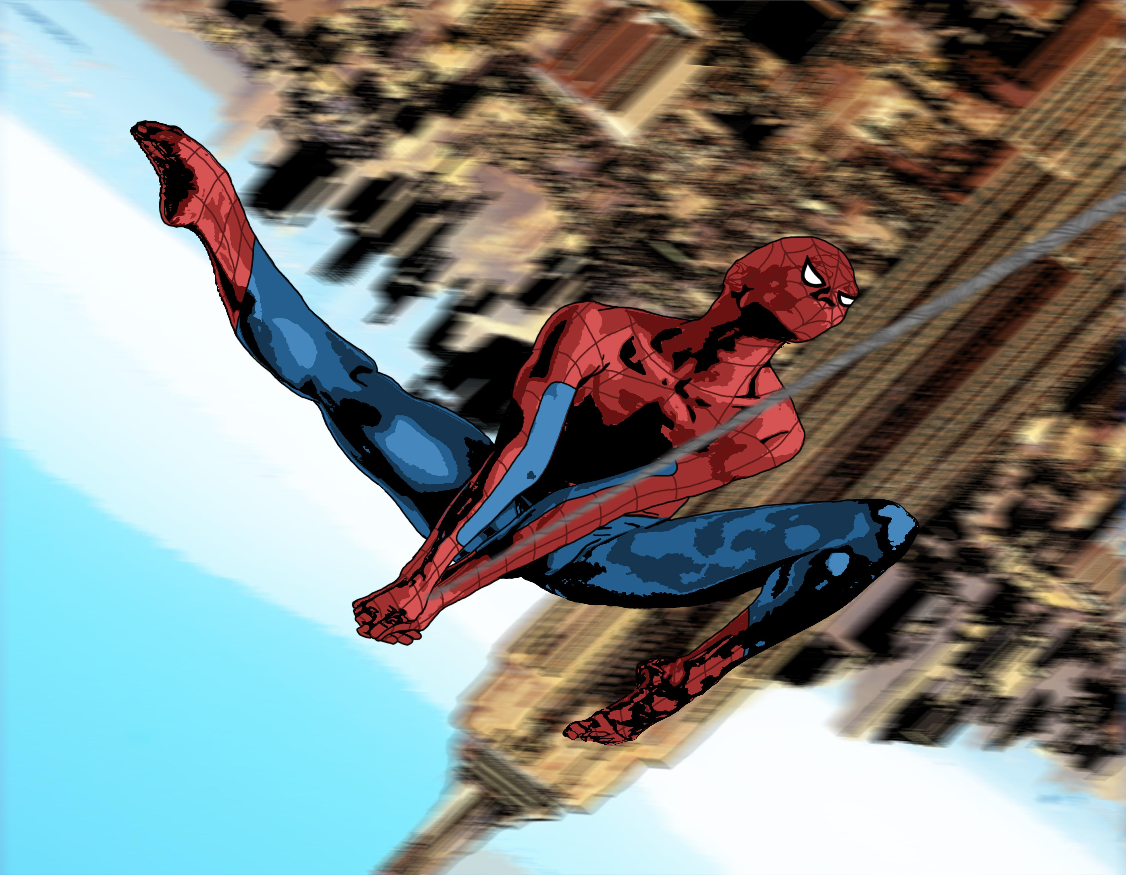 I Drew Another Spider Man This Morning Before Work Hope
