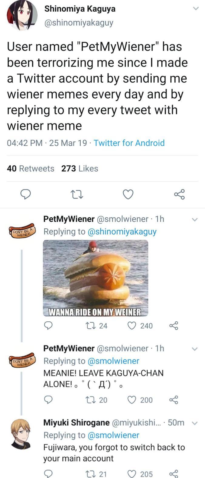 BIG JUICY WIENER (Long meme. Open the image)